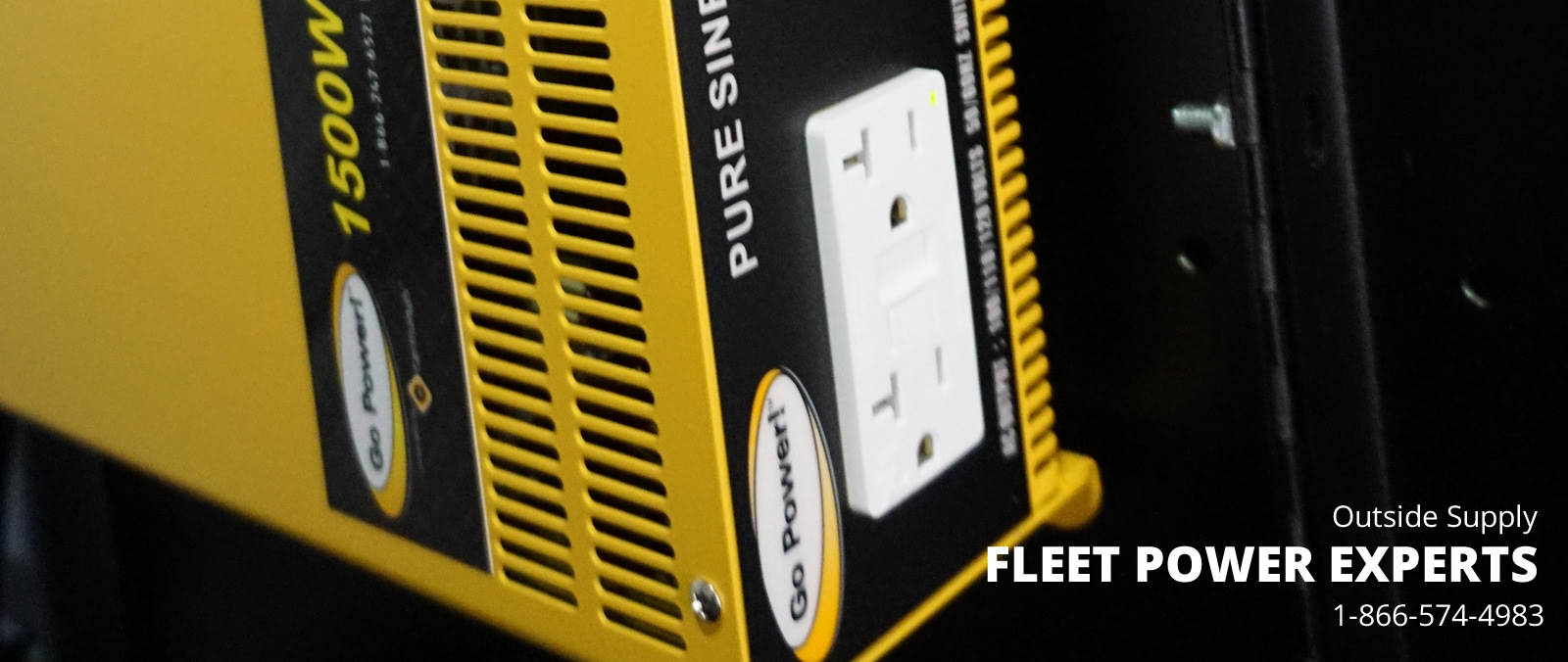 Fleet Power guide from Outside Supply covers many of the inverter and solar charging applications from work trucks, vans and delivery vehicles..