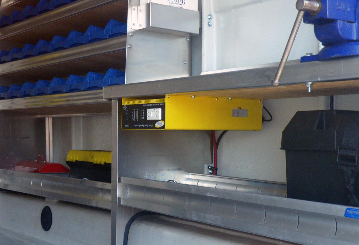 Trailer and Utility Power Inverters