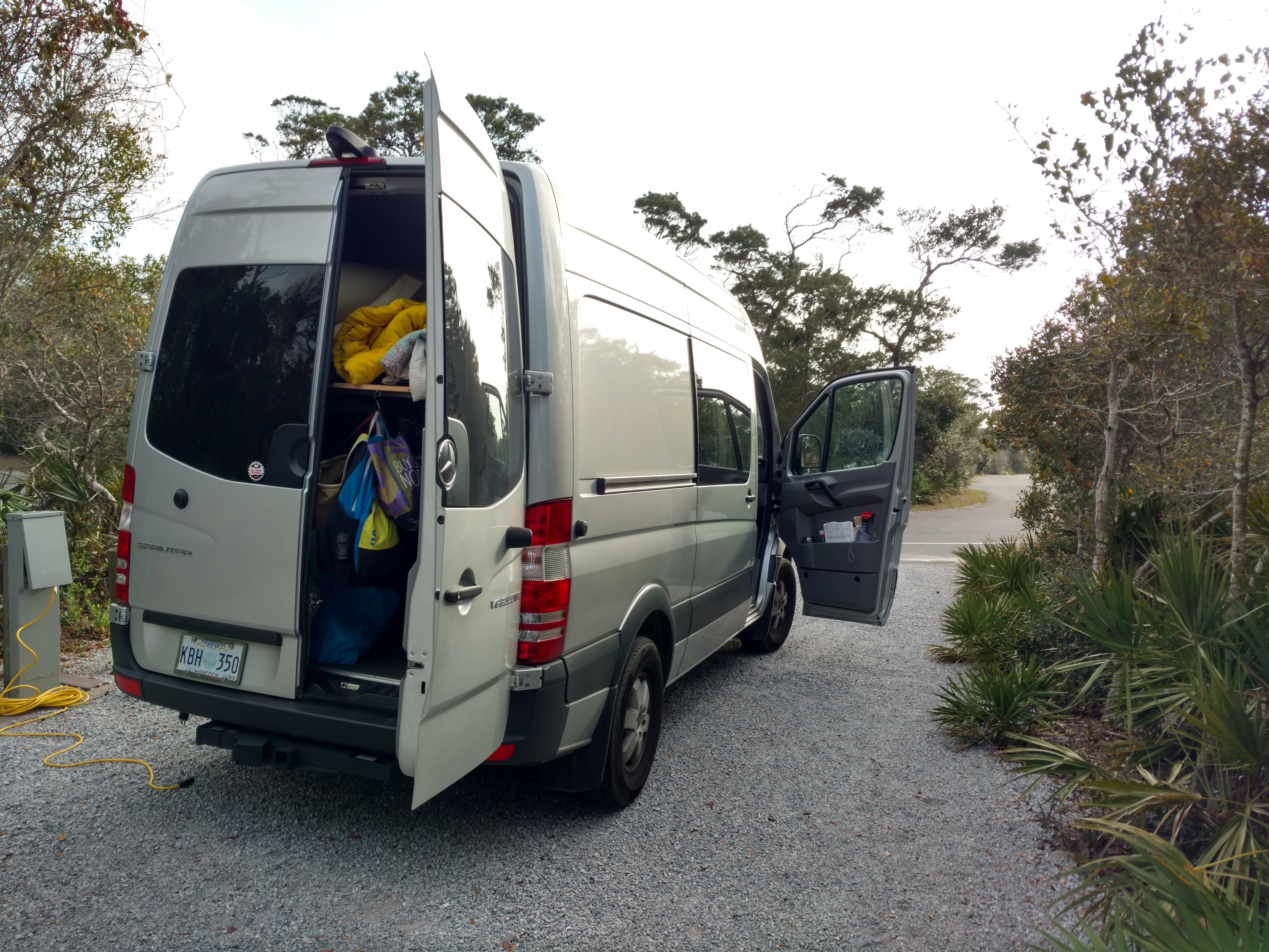 A Little Trip To The Destin Beach Henderson State Park 50 Amp Rv Hookup It Did Have Very Nice Electrical Hookups That Included 15 20 30 And Ac Power