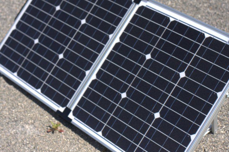 Making a solar panel into a portable kit has revolutionized easy solar charging. These folding solar panels are great for off grid solar battery charging in a snap.
