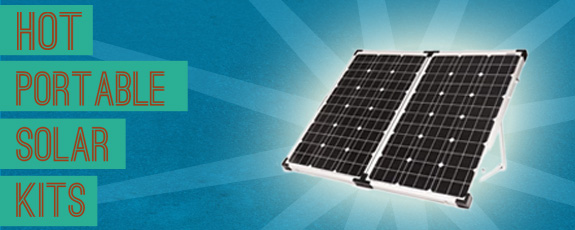 New Portable RV Solar Kits