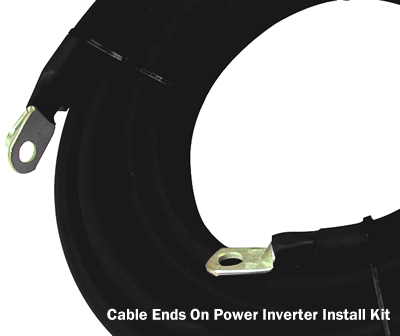 Power Inverter Cable Ends