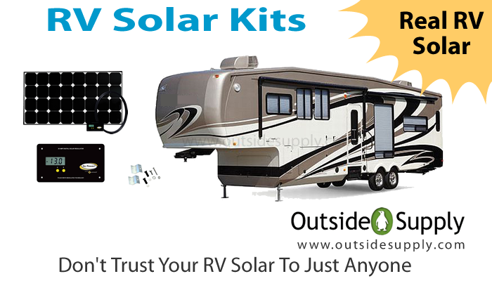 New Blog Post - Installing a solar panel on a travel trailer - 4lots ...