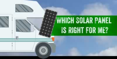 Which solar panel is right for me?